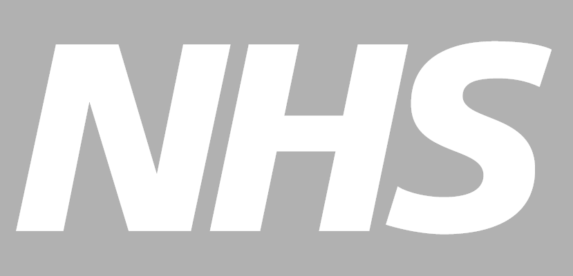 NHS Logo in grey